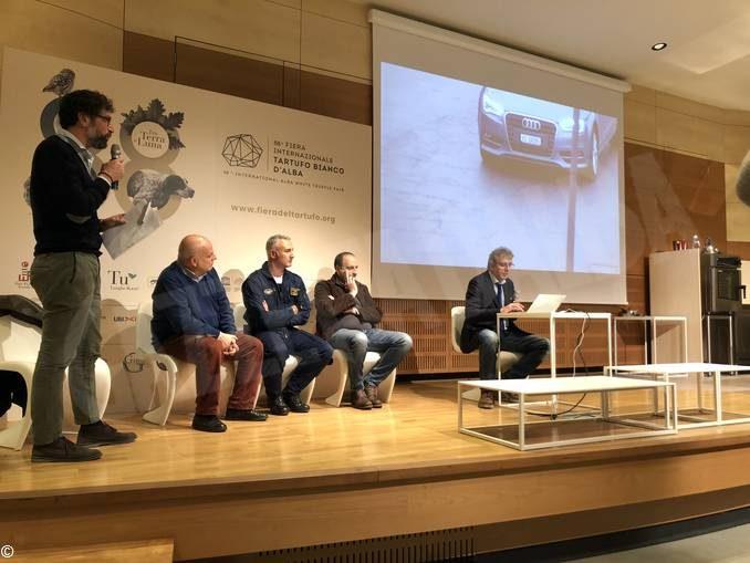 Tecnologia e Fiera: in azione ad Alba sensori e droni per controllare la presenza di persone e auto