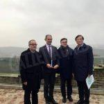 L'ambasciatore della Corea del Sud visita il sito Unesco