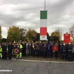 Bra: inaugurati i due pennoni in ricordo delle vittime della Grande guerra