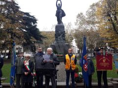 Bra: inaugurati i due pennoni in ricordo delle vittime della Grande Guerra 3