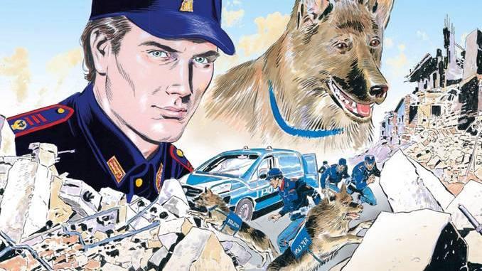 Polizia, calendario 2019 disegnato come un fumetto