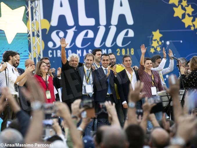editoriale sciortino_grillo_di maio_ansa_Massimo Percossi