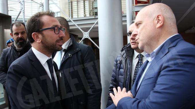 Il ministro Bonafede ad Alba non rassicura sul tribunale