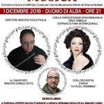 Natale in musica, sabato 1° dicembre concerto ad Alba per l'Aism