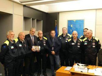 La Protezione civile della provincia di Cuneo premiata a Strasburgo