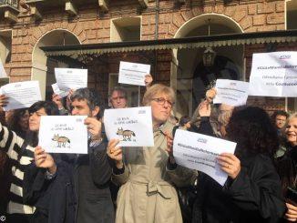 Attacchi alla stampa, i giornalisti in piazza a Torino 3