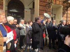 Attacchi alla stampa, i giornalisti in piazza a Torino 4