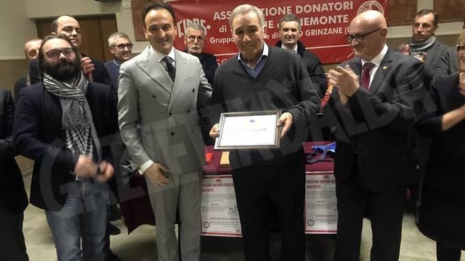 Mario Brunetto presidente onorario della Fidas di Gallo