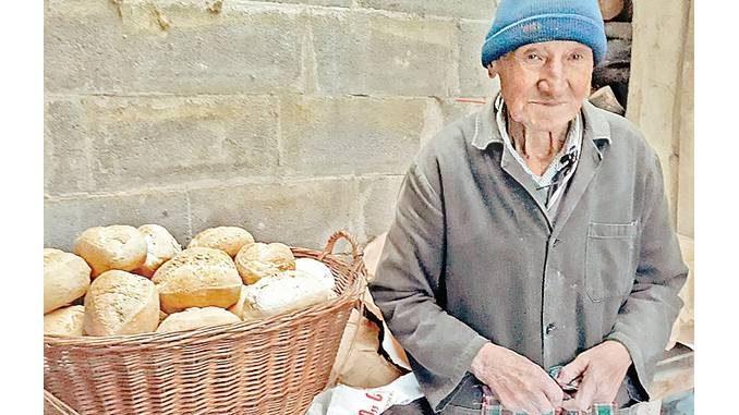 Giuseppe Lora, un fornaio d'altri tempi