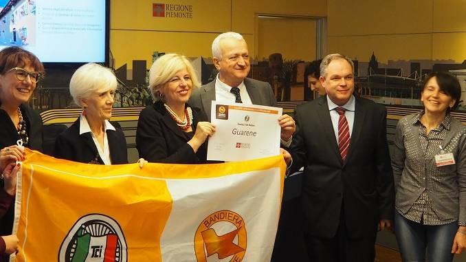 Guarene è il primo paese del Roero premiato con la bandiera arancione