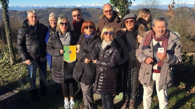Il Lions di Cortemilia  ha guidato in collina i colleghi romagnoli