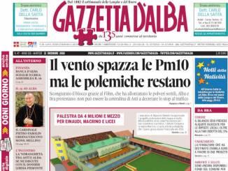 La copertina di Gazzetta in edicola martedì 11 dicembre