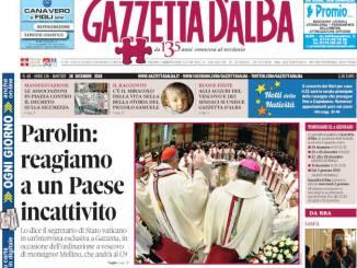La copertina di Gazzetta in edicola martedì 18 dicembre