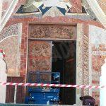 Nuovo portale per il santuario della Madonna dei fiori a Bra