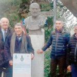 Un busto sulla piazza di Treiso ricorda l'imperatore