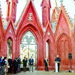 Restaurato l'ingresso del cimitero progettato da Schellino