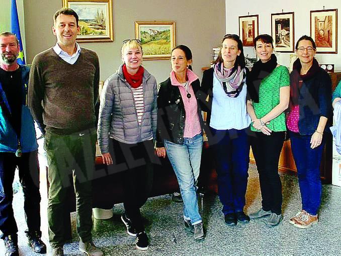 delegazione ceca a Cortemilia