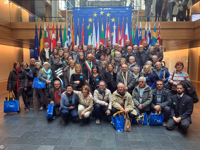 gruppo Castagnito a Strasburgo