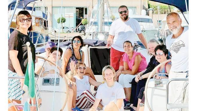 I disabili conquistati dalla vela