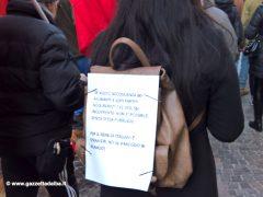 Oltre trecento persone alla manifestazione contro il Decreto sicurezza 2