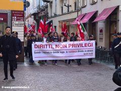 Oltre trecento persone alla manifestazione contro il Decreto sicurezza 3