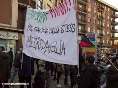 Oltre trecento persone alla manifestazione contro il Decreto sicurezza 5