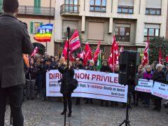 Oltre trecento persone alla manifestazione contro il Decreto sicurezza 6