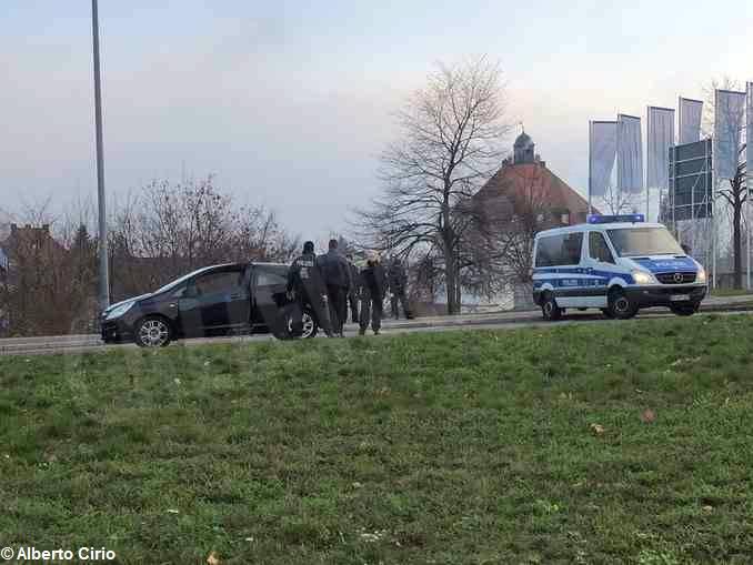 strasburgo controlli polizia 1