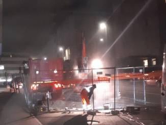 Intervento sulla rete del gas in viale Vico