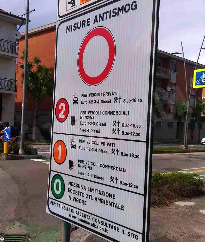 Alba cartello antismog