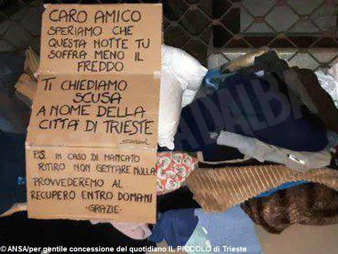 Trieste_ANSA PER GENTILE CONCESSIONE DEL QUOTIDIANO 'IL PICCOLO' DI TRIESTE