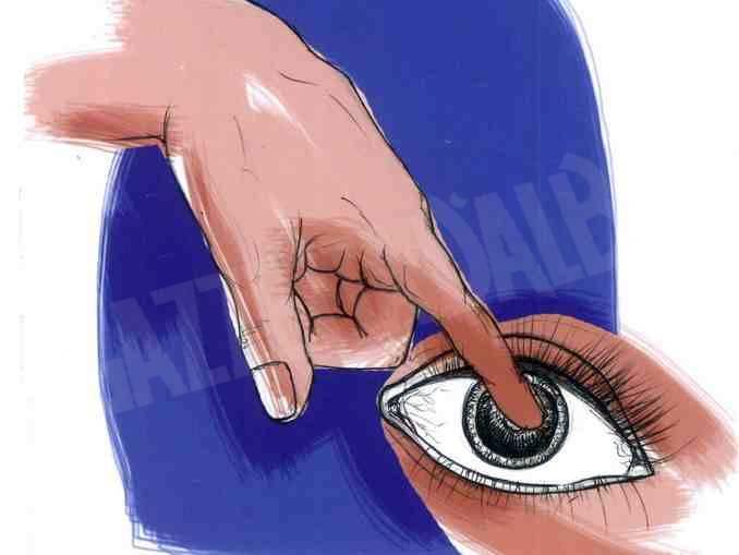 dito nell occhio logo