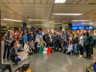 Partito con destinazione Gmg a Panama il gruppo Piemonte 1