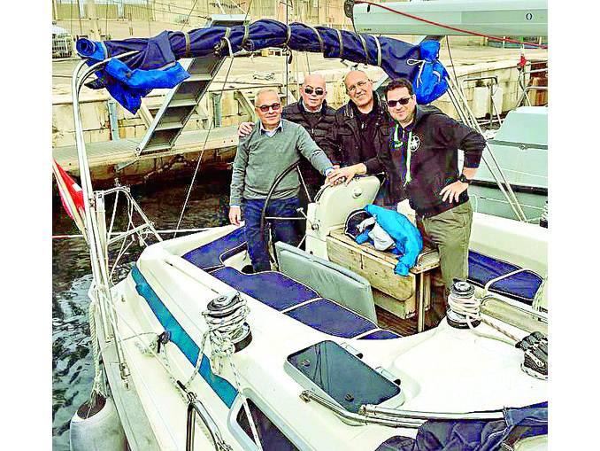nuova barca handarpermare