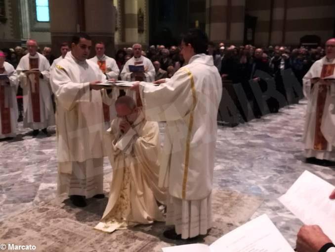 L'omelia di monsignor Marco Brunetti all'ordinazione episcopale di padre Franco Moscone 2