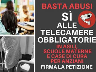 Abusi su bambini e anziani in asili e case di cura, Alberto Cirio lancia una petizione per le telecamere obbligatorie