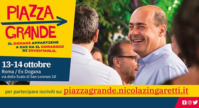Politica: nasce Piazza Granda per Nicola Zingaretti