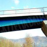 Il ponte sul Bormida a Bergolo è ridiventato azzurro