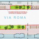 Al via il rifacimento di parte di via Roma, via XX Settembre e via Mazzini