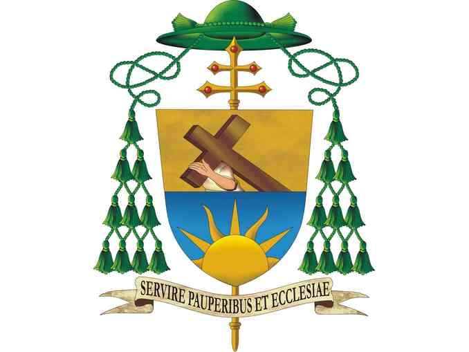 stemma episcopale di padre moscone