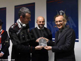 Il Vescovo di Asti visita il comando provinciale dei Carabinieri