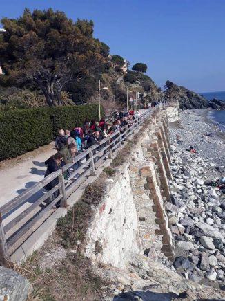 Cai di Alba: grande partecipazione alla gita in Liguria 1