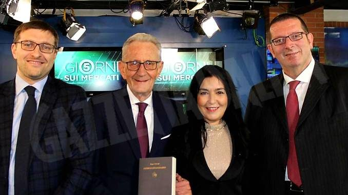 Beppe Ghisolfi ed Alberto Rizzo a Class TV CNBC, l'emittente dell'alta finanza