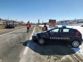 Inseguimento dei carabinieri sulla Asti-Mare
