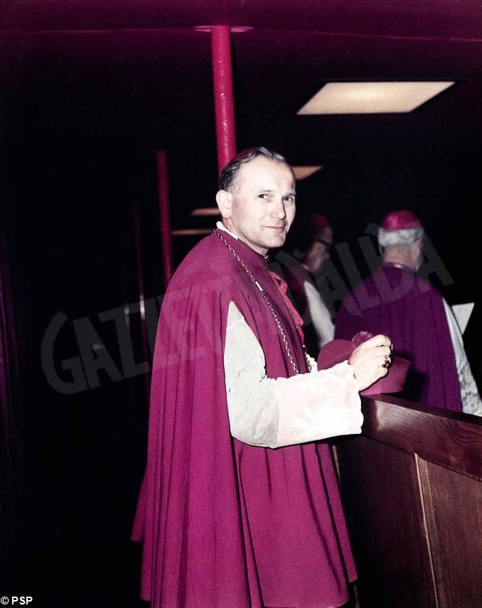 Karol Wojtyla arcivescovo Cracovia