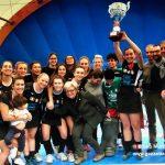 Le ragazze della Lorenzoni Bra campionesse di serie A Hockey indoor