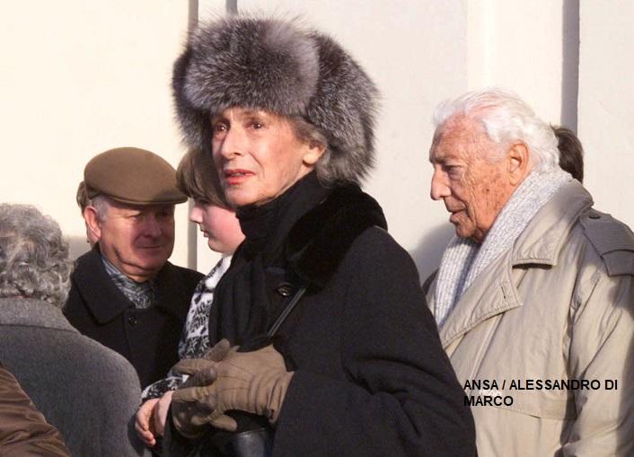 Agnelli: morta Marella, la moglie dell'Avvocato