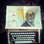 Mattia Maio, l'artista della macchina da scrivere, a La bookeria di Alba sabato 16 febbraio