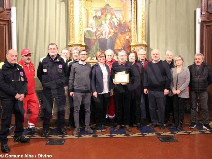 Alba ringrazia Franco Bordino, volontario del Gruppo comunale di protezione civile