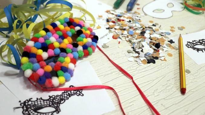 Non solo libri alla Bookeria: creatività con le maschere
